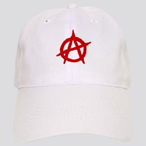 Anarchist 1 (red) Baseball Cap