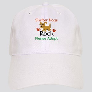 Shelter Dogs Rock Please Adopt Baseball Cap