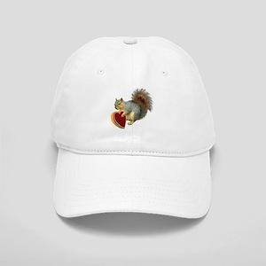 Squirrel Valentine Cap