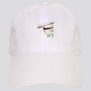 Coffee Is Happiness Baseball Cap