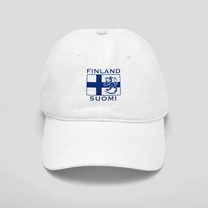 Finland Suomi Flag Cap