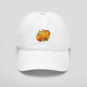Fall Pumpkins Cap