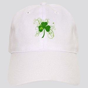 St Paddys Day Fancy Shamrock Cap