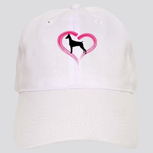 Heart My Doberman Cap