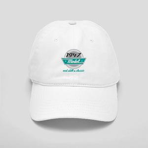 1947 Birthday Vintage Chrome Cap