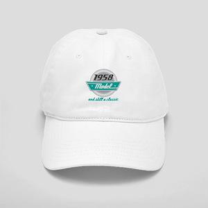 1958 Birthday Vintage Chrome Cap