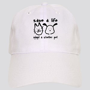 Save a Life - Adopt a Shelter Pet Cap