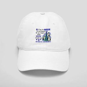 Holiday Penguins Arthritis Cap