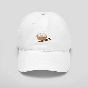 White Rice Baseball Cap