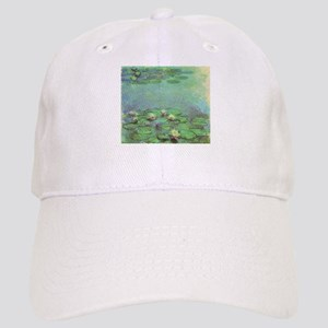 Waterlilies by Claude Monet Cap