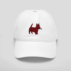 Scottish Terrier Tartan Cap