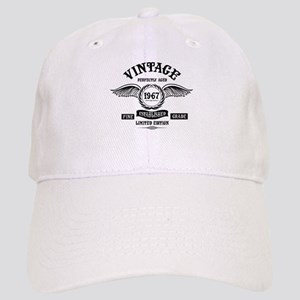 Vintage Perfectly Aged 1967 Baseball Cap