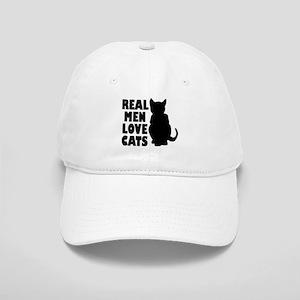 REAL MEN LOVE CATS Baseball Cap