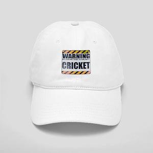 Warning: Cricket Cap
