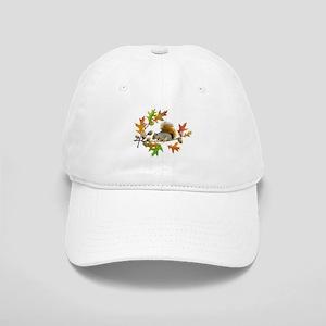 Squirrel Oak Acorns Cap