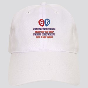 66 year old designs Cap
