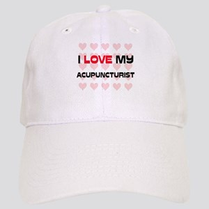 I Love My Acupuncturist Cap