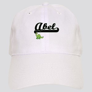 Abel Classic Name Design with Dinosaur Cap