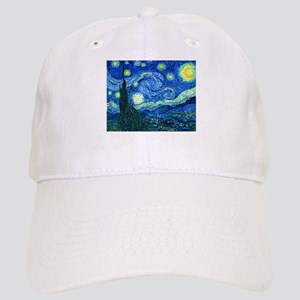 van gogh starry night Baseball Cap