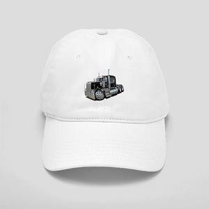 Kenworth W900 Black Truck Cap
