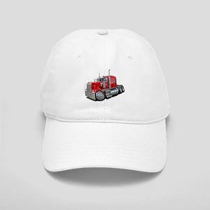 Kenworth W900 Red Truck Cap