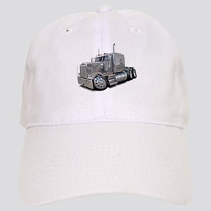 Kenworth W900 Silver Truck Cap