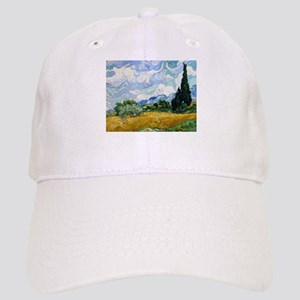 Van Gogh Wheat Field With Cypresses Cap