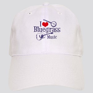 I Love Bluegrass Cap
