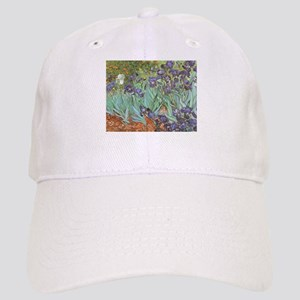 Van Gogh Irises, Vintage Post Impressionism Ar Cap