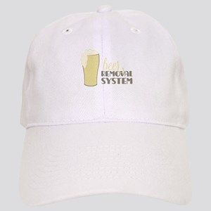 Beer Removal System Baseball Cap
