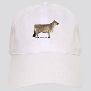 Brown Swiss Dairy Cow Cap