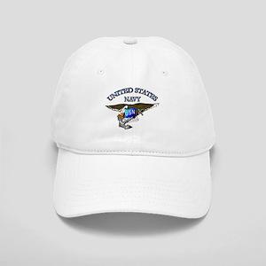 Navy - Eagle with Anchor Cap