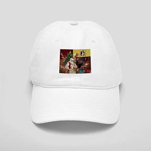 Santa's Wheaten (#7) Cap