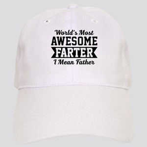 Awesome Farter Funny Dad Baseball Cap