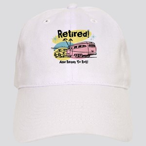 Retro Trailer Retired Cap