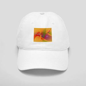 Digital Kandinsky Emulation Baseball Cap