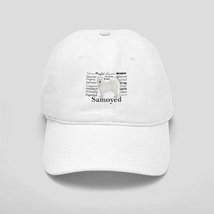 Samoyed Traits Baseball Cap