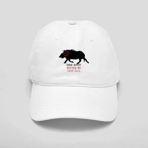One Shot One Kill Wild Boar Hog Cap