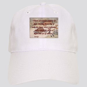 There Are Many Statues Of Men - Aesop Baseball Cap