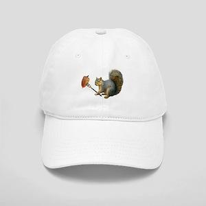 Squirrel Acorn Fork Baseball Cap