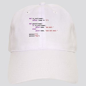I am cool You are not cool Baseball Cap