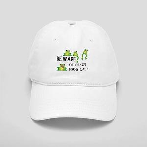 Beware of Crazy Frog Lady Cap