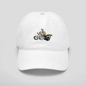 Motorcycle Squirrel Cap