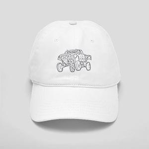 Off-Road Race Truck Grey Cap