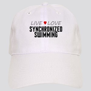 Live Love Synchronized Swimming Cap