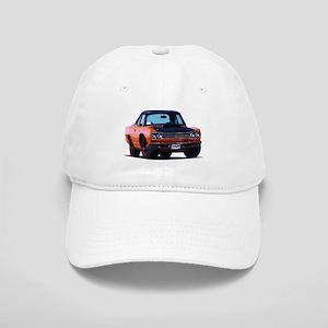 BabyAmericanMuscleCar_69_RoadR_Orange Baseball Cap