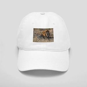 Male African Lion Baseball Cap