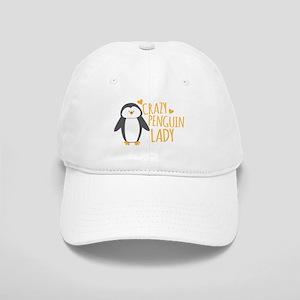 Crazy Penguin Lady Cap