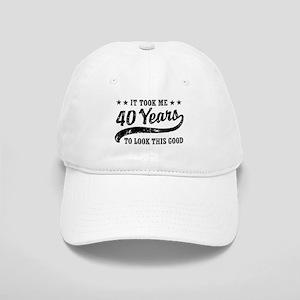 Funny 40th Birthday Cap