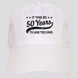 Funny 50th Birthday Cap